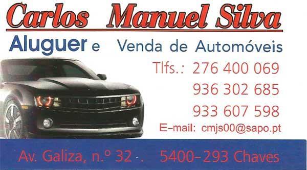 Aluguer de automóveis em Chaves - Carlos Manuel Silva